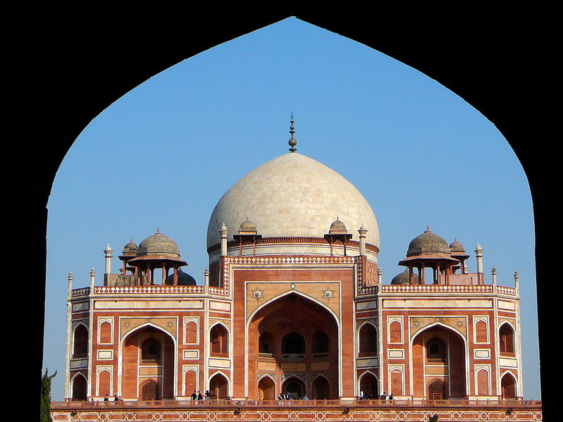 Humayuns Tomb from the entrance Delhi