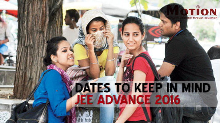 JEE Advanced 2016 Dates Announced