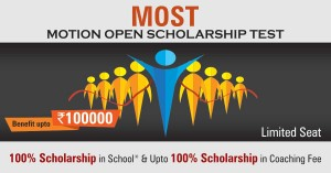 Motion Open Scholarship Test