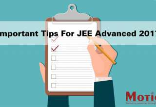 Tips For JEE Advanced 2017