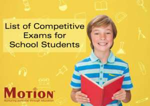 List of Competitive Exams for School Students